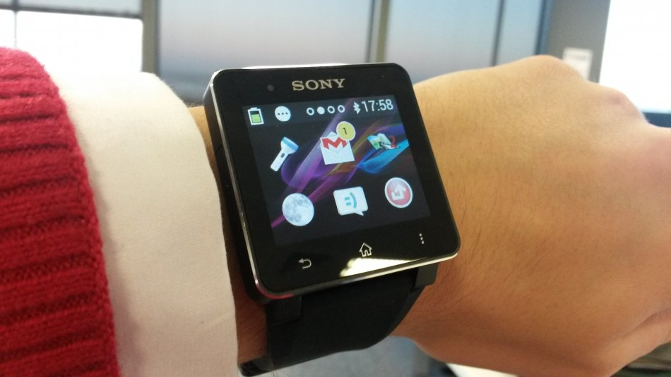 how to use sony smartwatch 2