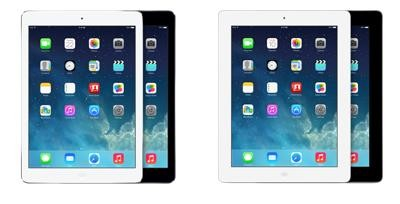 iPad Air vs iPad 4