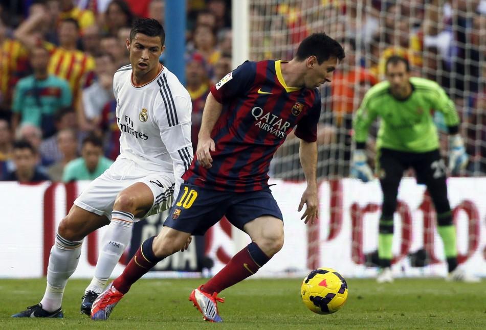 Messi 2014 Clasico Clasico la Liga 2014/15