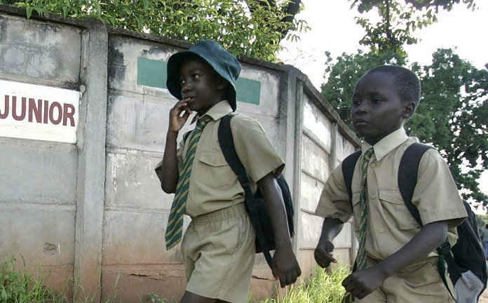 """Outbreak of Goblins"" in Zimbabwe scares pupils off school PIC: Reuters"
