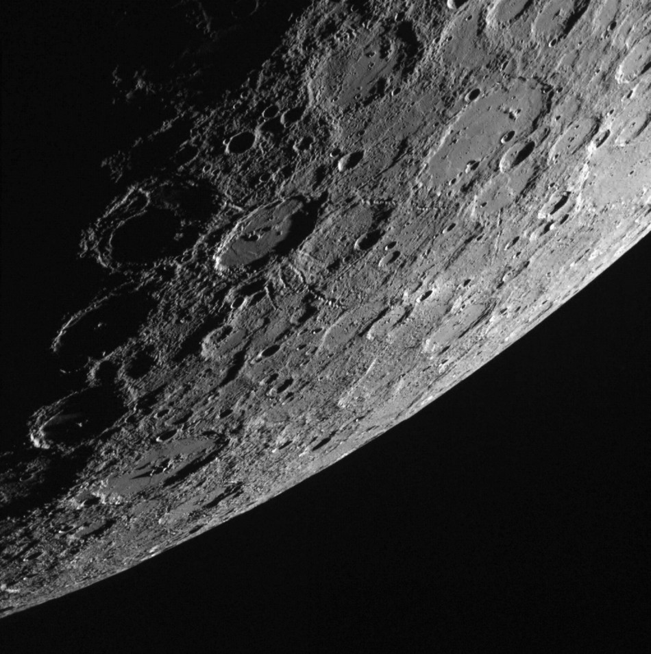 The planet Mercury is shown in this NASA handout provided October 28, 2013 and captured October 2, 2013 showing the sunlit side of the planet by the Wide Angle Camera of the Mercury Dual Imaging System aboard NASA's Messenger spacecraft.