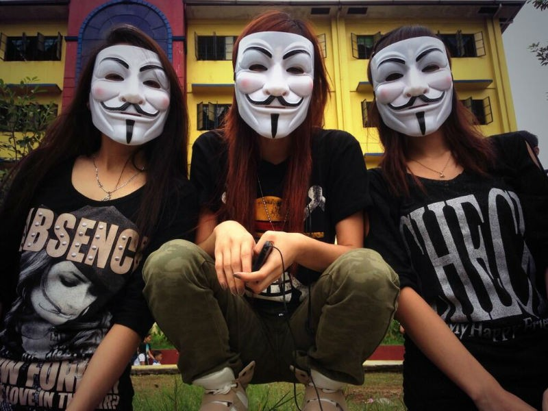 Anonymous Million Mask March - Philippines
