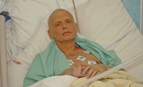 Alexander Litvinenko was poisoned in November 2006