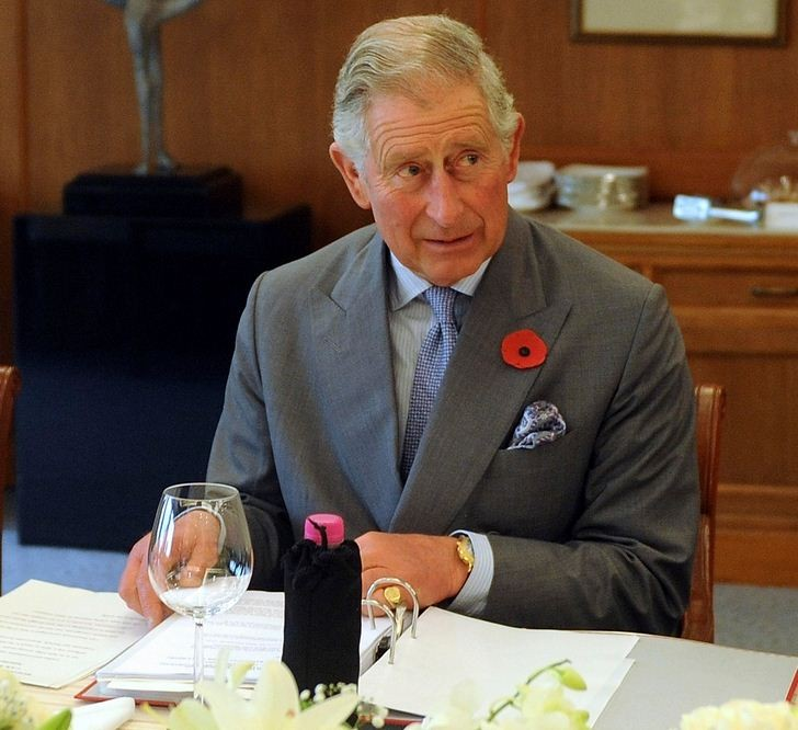 Prince Charles attends a round table meeting with business leaders at the Taj Mahal hotel in Mumbai. The prince of Wales turned 65 on 14 November. (Photo: Reuters)