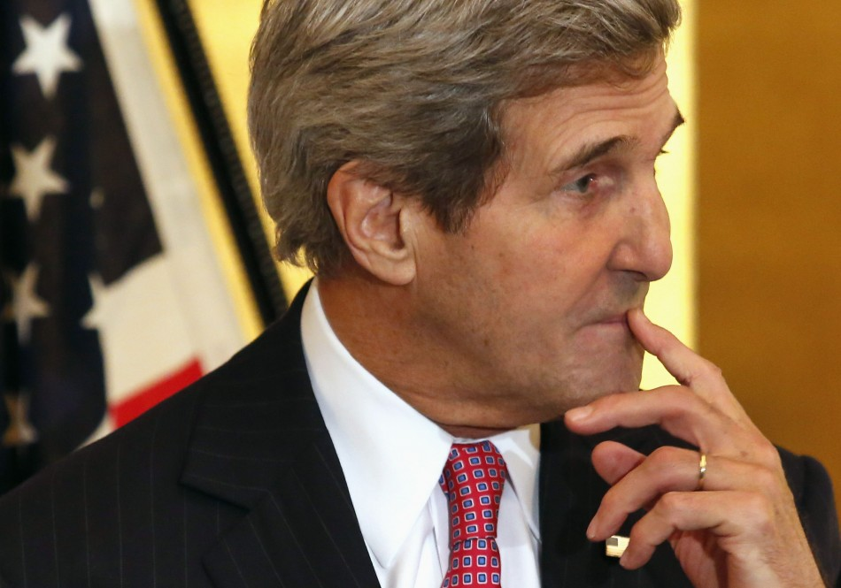 U.S. Secretary of State John Kerry and Secretary of Defence Chuck Hagel will meet Australian Foreign Affairs Minister Julie Bishop and Defence Minister Senator David Johnston