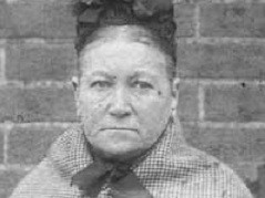 Amelia Dyer photographed following her arrest (WikiComms)