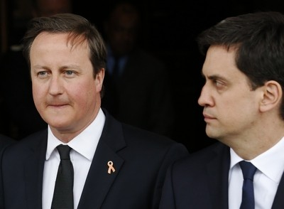 David Cameron and Ed Miliband