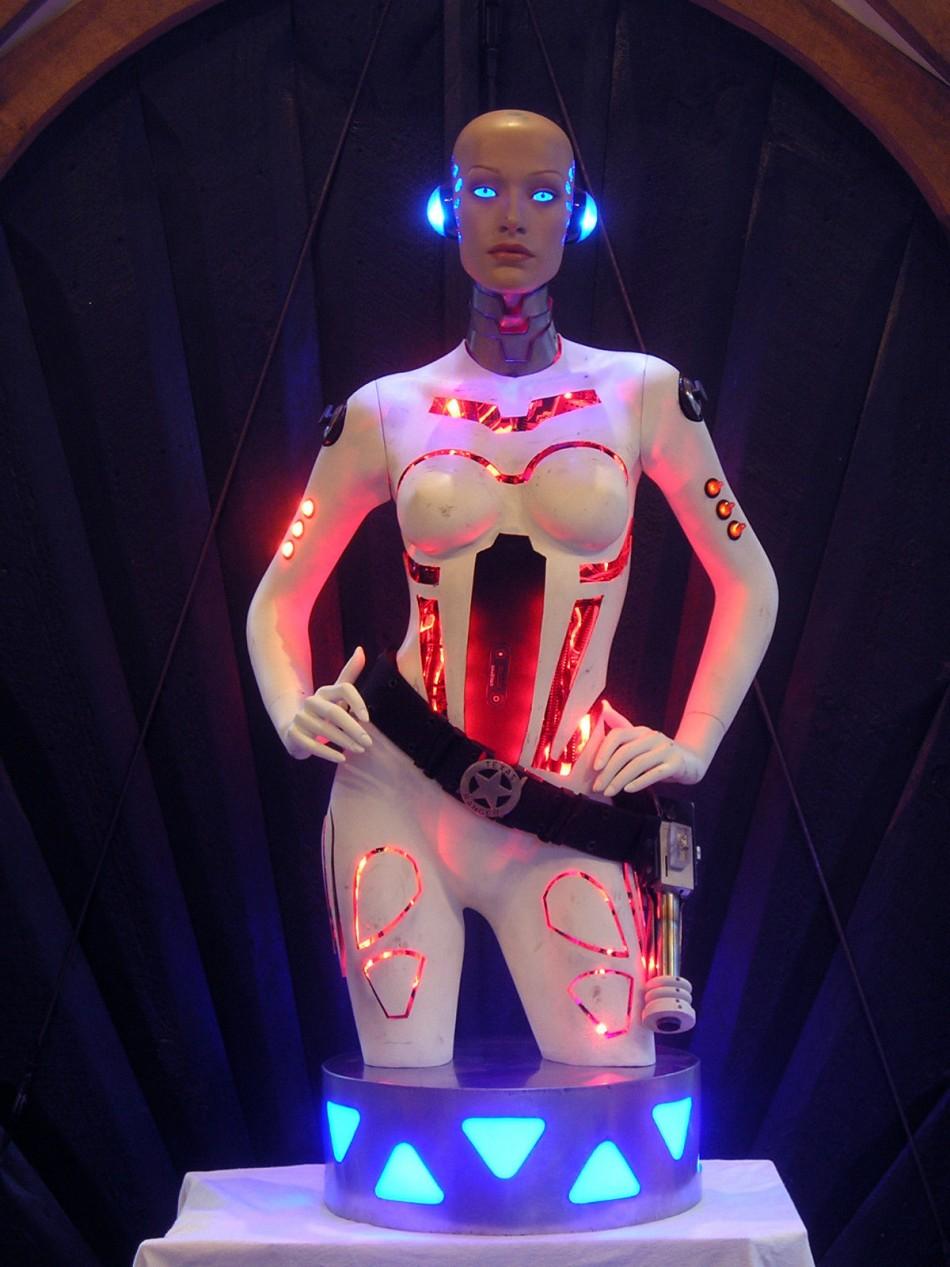 Robot Life Size Life-size 'robot Girl'