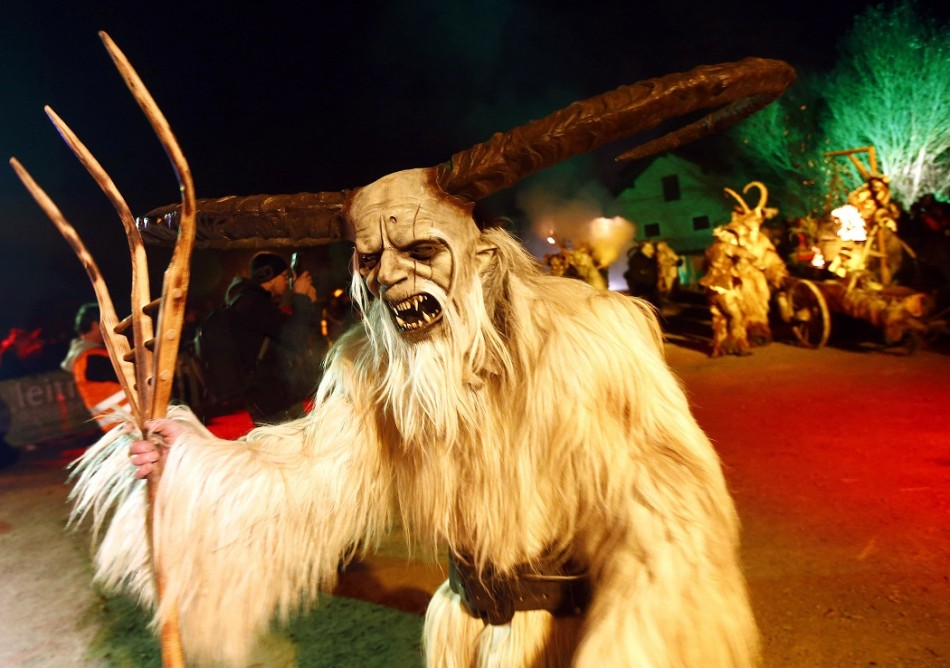 Christmas 2013: Germany Prepares For Terrifying Tradition Krampus ... Naughty Santa Claus Costume For Men