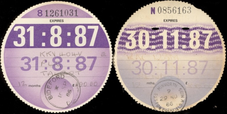 Car Tax Discs No Longer Needed On Uk Windscreens From