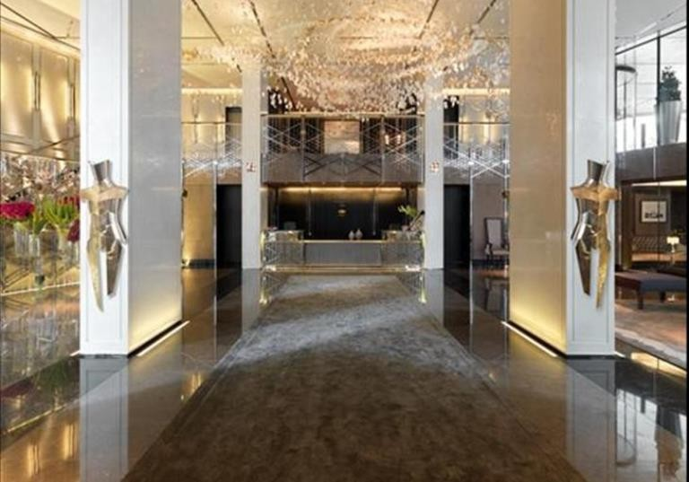 London's most expensive apartment block at One Hyde Park, Knightsbridge SW1