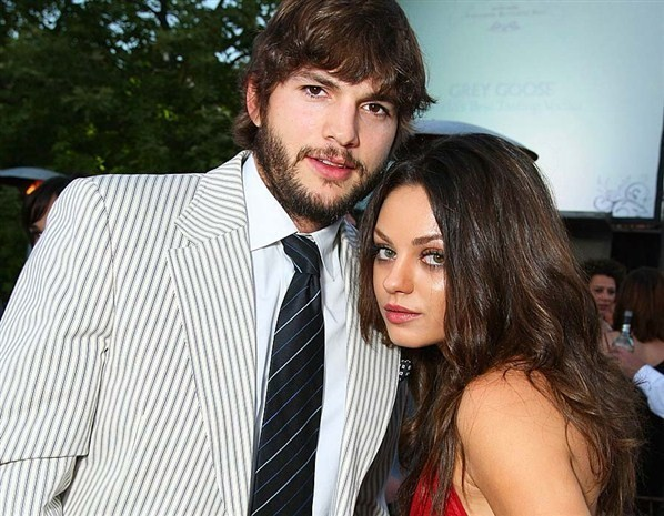 Ashton Kutcher and Mi