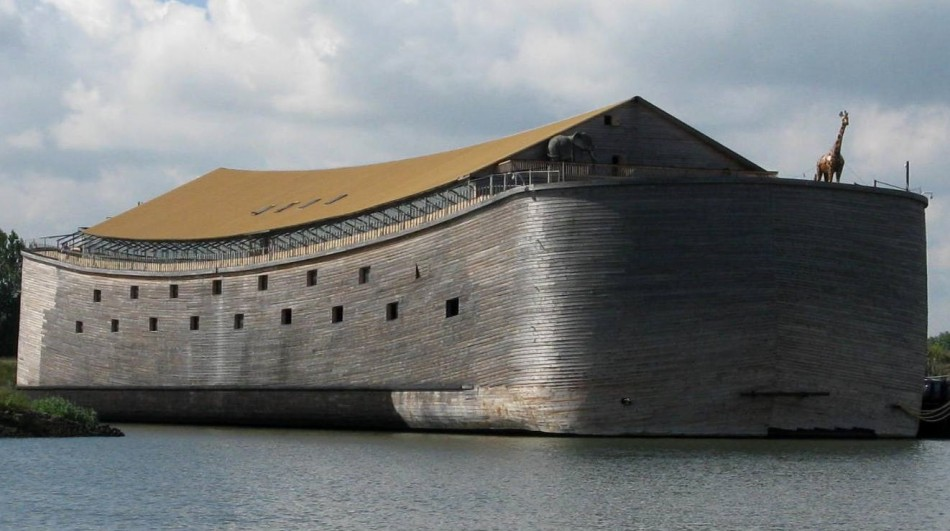 A full-scale replica of Noah's Ark in the Netherlands. (Photo: Wikipedia).