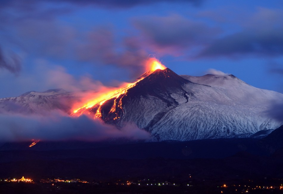 Mount Etna's Latest Eruption Captured in Spectacular Photos [EXCLUSIVE IMAGES]