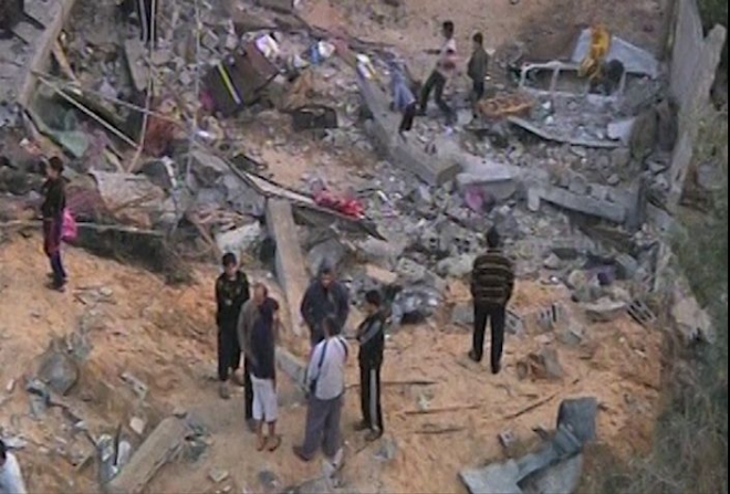 Gaza dead soars as Israeli air strikes continue
