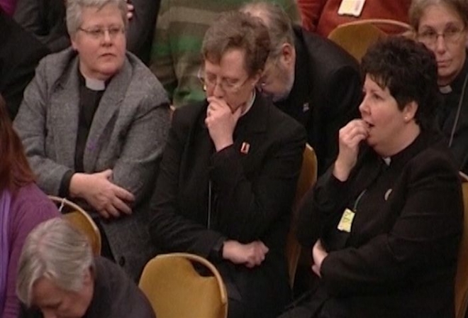 'Sadness' over vote against women bishops