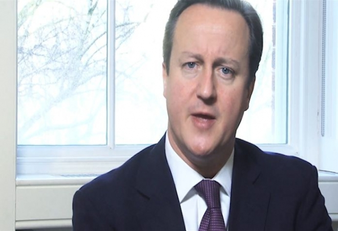 David Cameron's 2013 New Year message