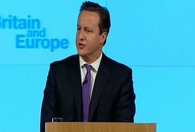 David Cameron commits to EU referendum