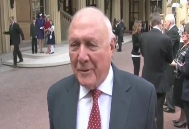 TV host Stuart Hall charged with rape