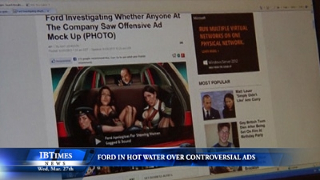 Ford In Hot Water Over Controversial Advertisement