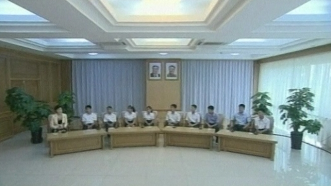 Defectors Appear On North Korean TV