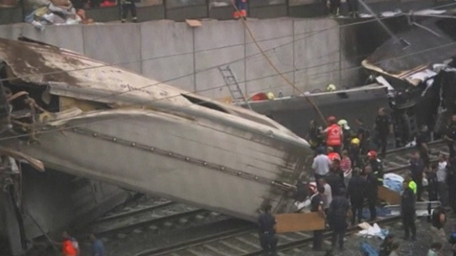 At least 77 killed in spain train derailment
