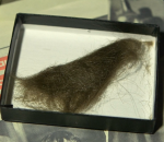 A lock of John Lennon's hair