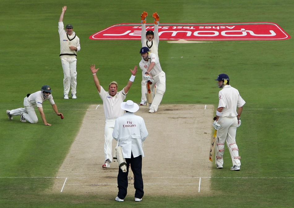 Shrugs off marital problems to take 40 wickets in Australias losing Ashes campaign. 2005 with 96 Test wickets, a world record that still stands.