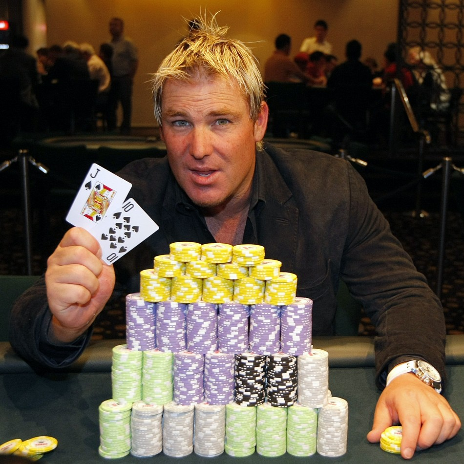 Since retiring from international cricket Warne has been a regular feature on the poker circuit.