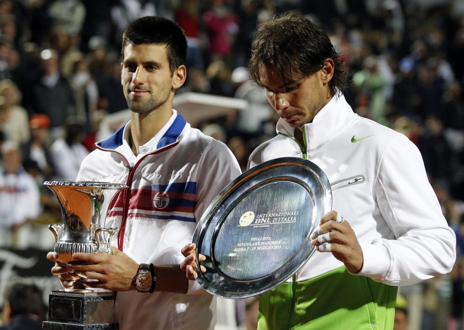 Djokovic and Nadal