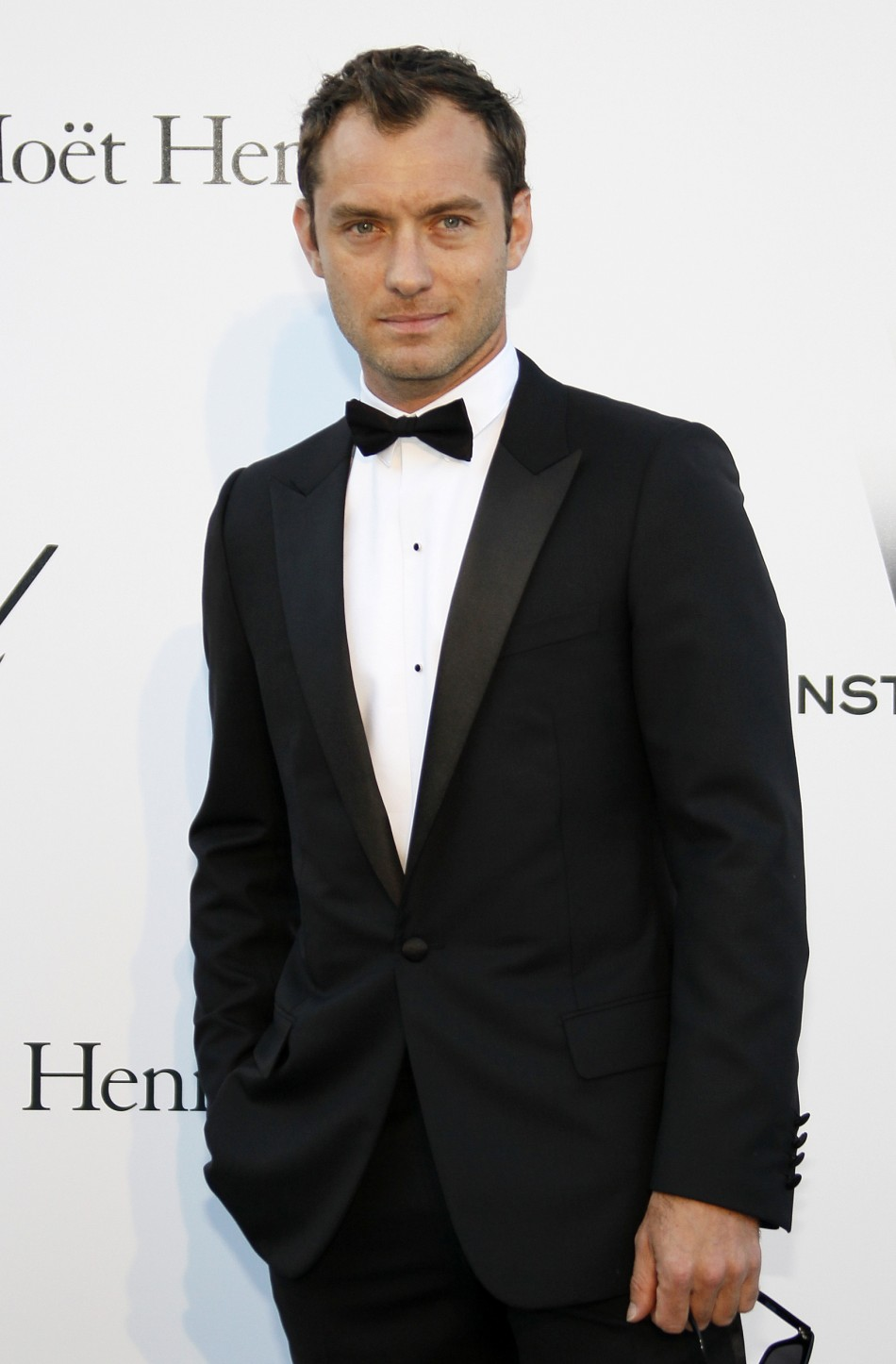 Actor Law arrives for amfAR's Cinema Against AIDS 2011 event in Antibes