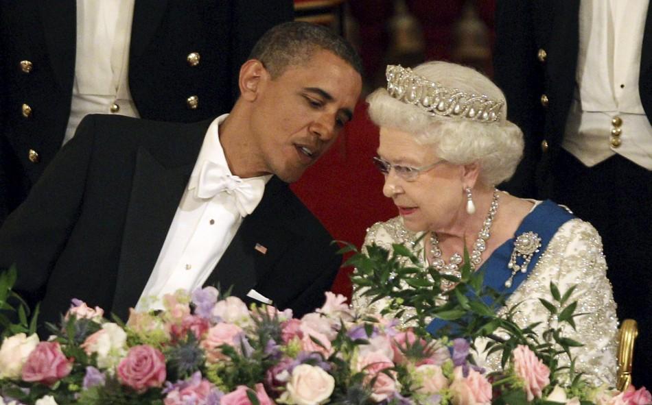 Mr. & Mrs. Obama make a Royal appearance at Buckingham Palace