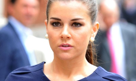 Glamour model Imogen Thomas has vowed to never hook up with a footballer again following allegations that she had an affair with Manchester United star Ryan Giggs.