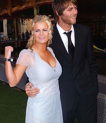 Brian McFadden and ex-wife, Kerry Katona