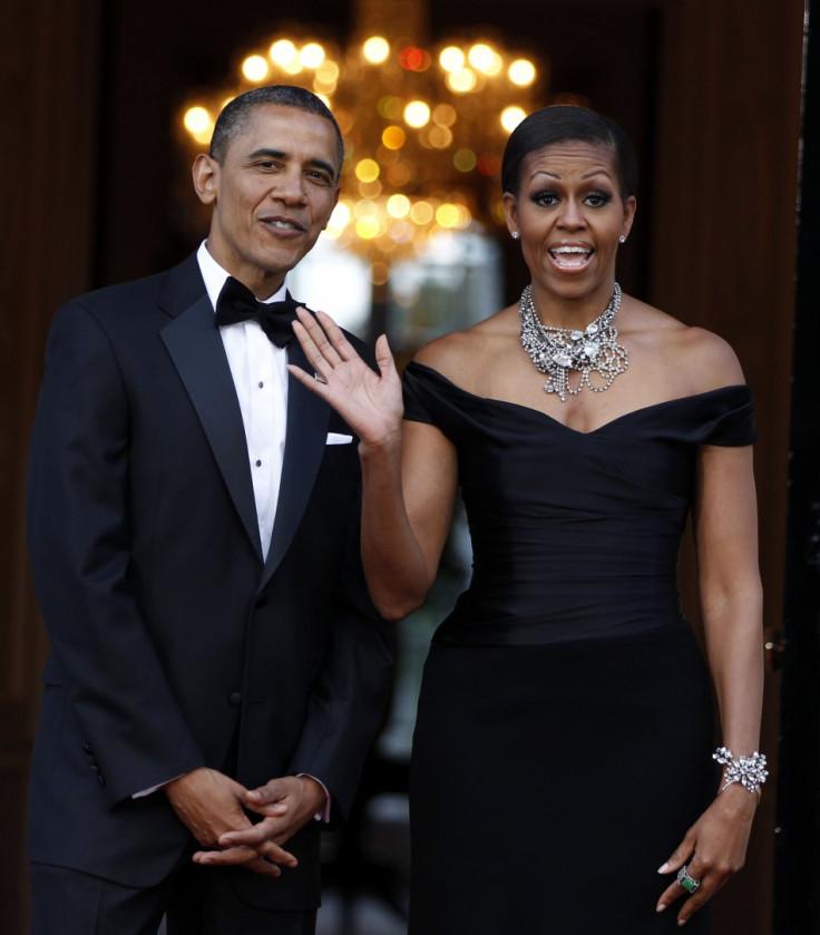 картинки обамы и его жены то