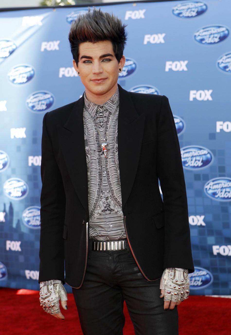 "Adam Lambert at  the 10th season finale of ""American Idol"""