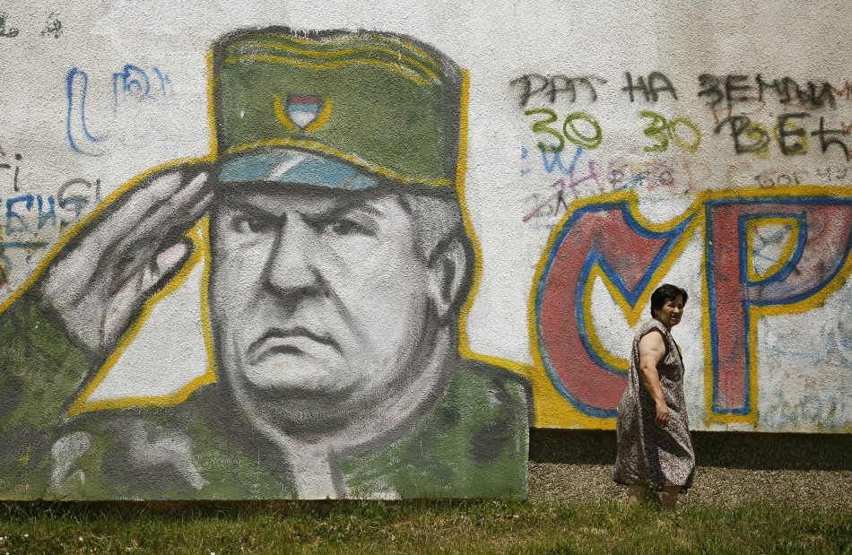 Ratko Mladic has been arrested in Belgrade