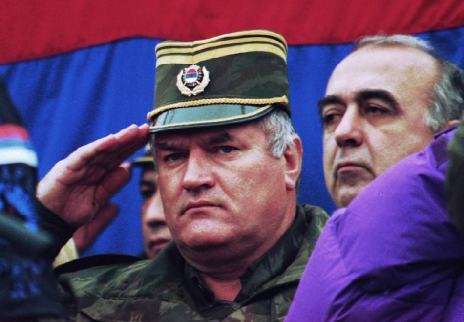 osnian Serb army commander General Radko Mladic