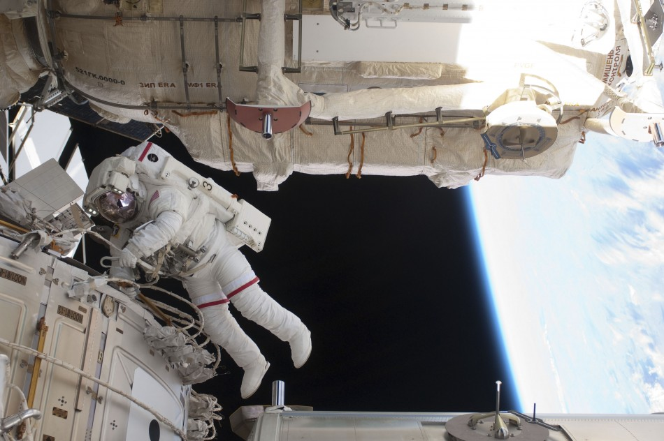 Brain and eye problems have surfaced in astronauts who spent more than a month in space