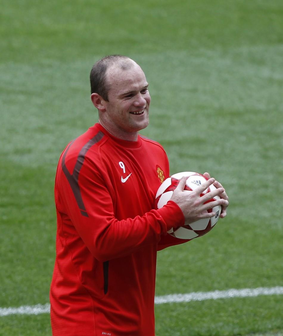 Wayne Rooney .