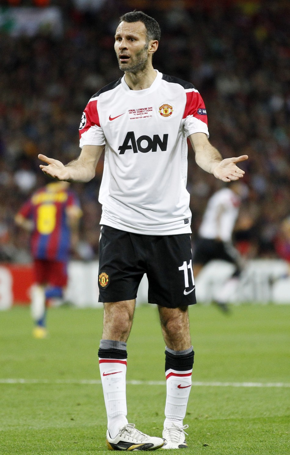Ryan Giggs, the beleaguered Manchester United midfielder, had a two-year affair with a third woman.