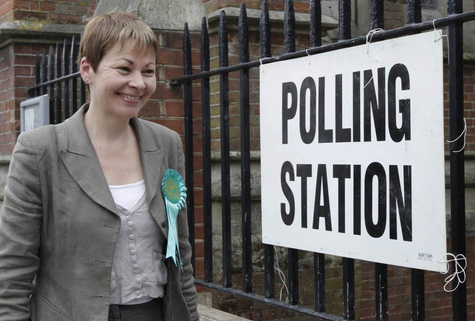 Caroline Lucas MP, leader of the Green Party