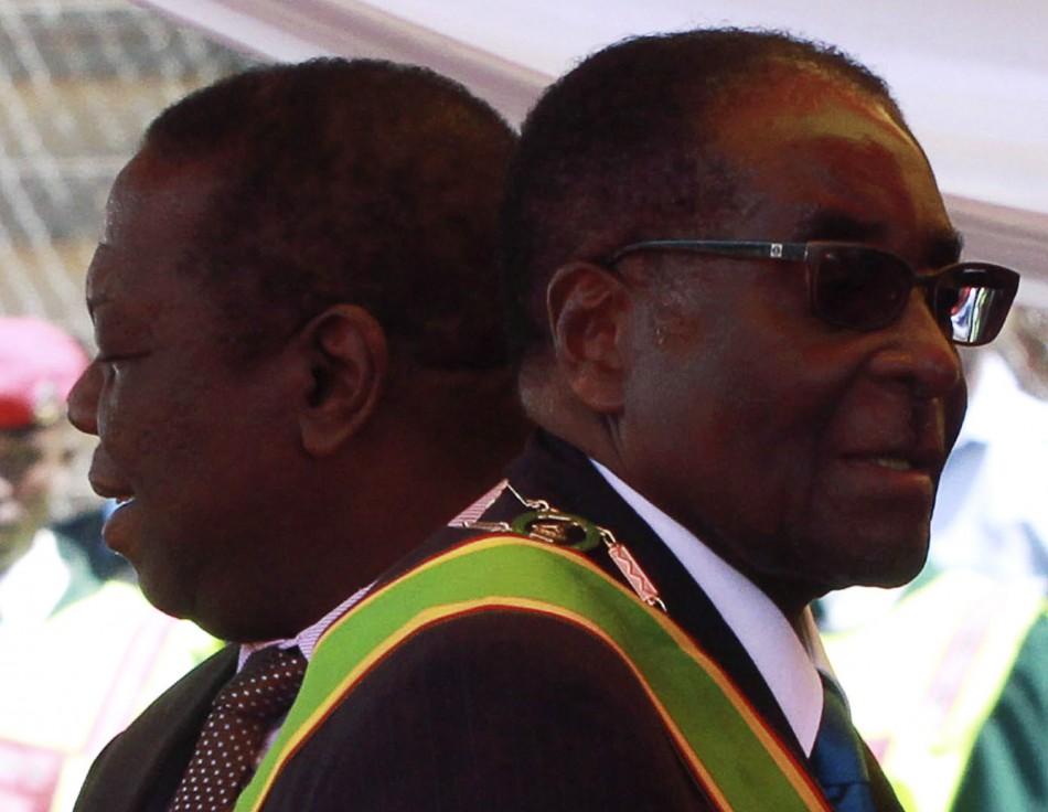 Zimbabwean President Robert Mugabe and Prime Minister Morgan Tsvangirai