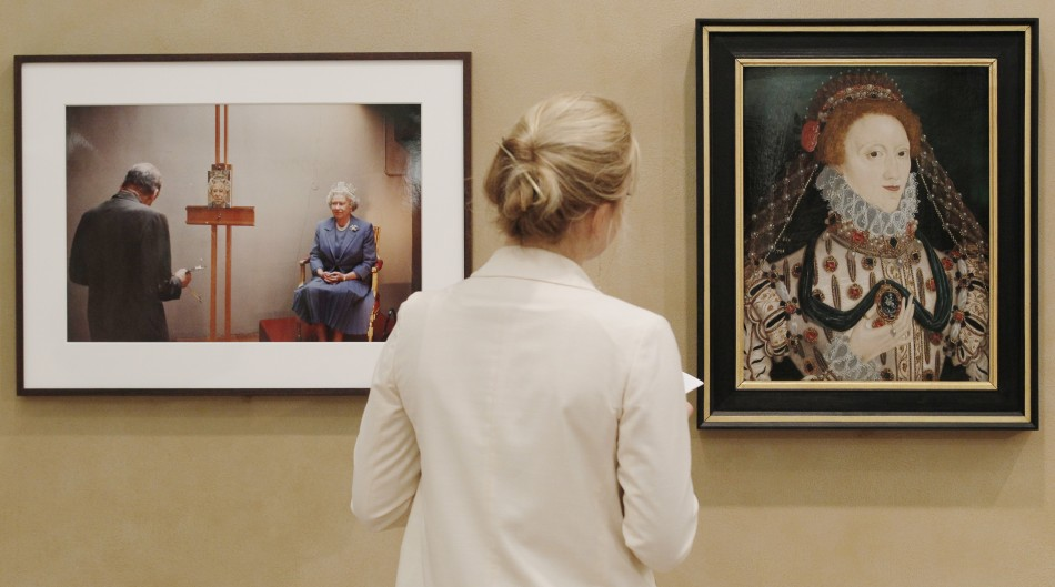 Iconic Lucian Freud Photographs Stages by Sotheby's London
