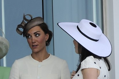 Kate experiments new look at the 2011 Epsom Derby Festival.