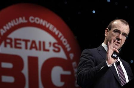 Leahy, CEO of Tesco, speaks at the National Retail Federation 98th Annual Convention in New York