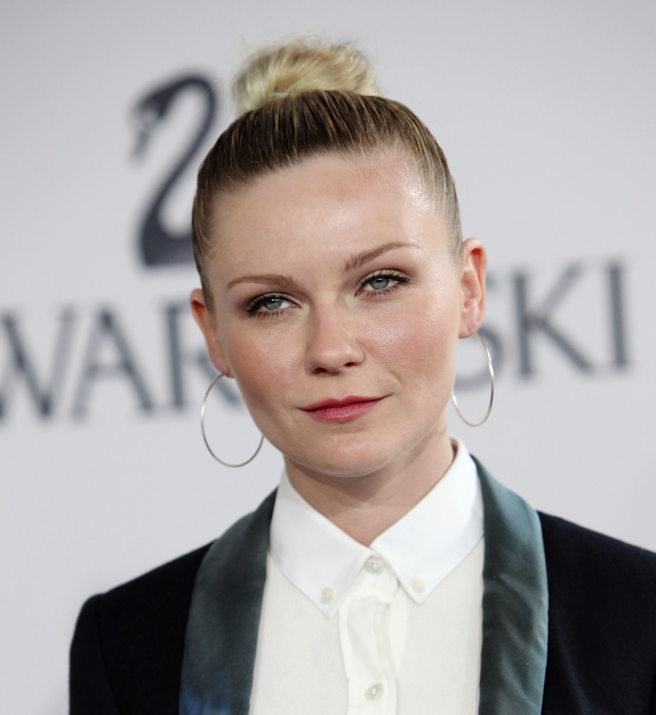 Kirsten Dunst arrives at the CFDA Fashion awards at the Lincoln Center's Alice Tully Hall in New York City