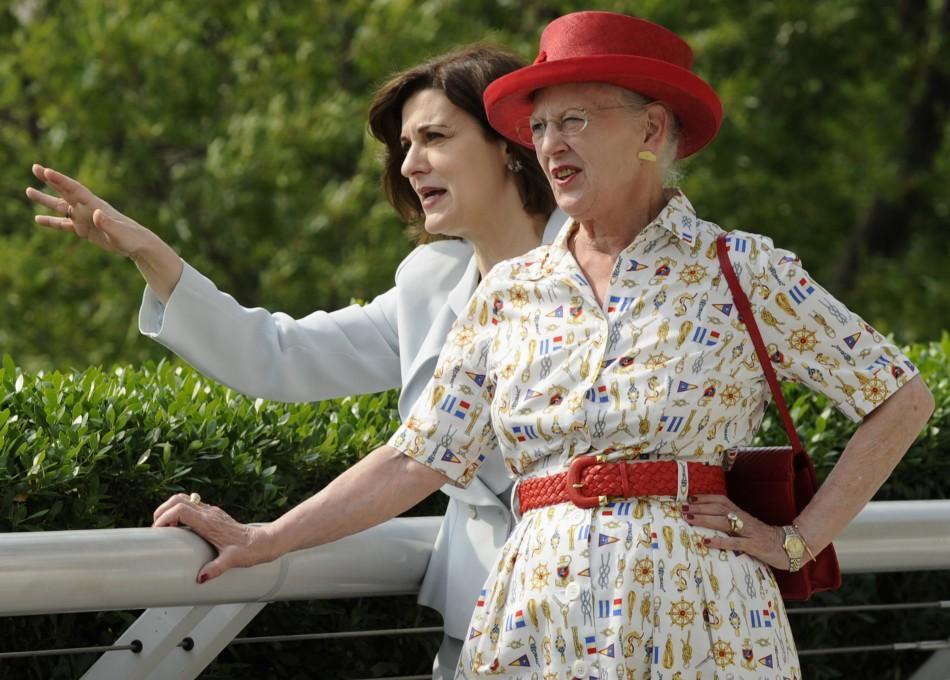 Danish Queen Margarethe visits Wasington