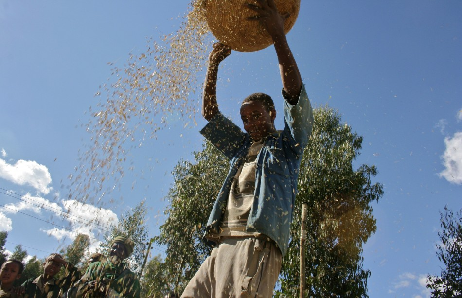 East Africa famine