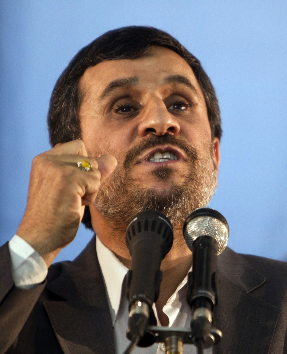 U.S, EU, Australia Walk Out from Ahmadinejad's U.N. Address